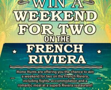 It's competition time! Win a weekend for two on the French Riviera with our New Year Prize draw