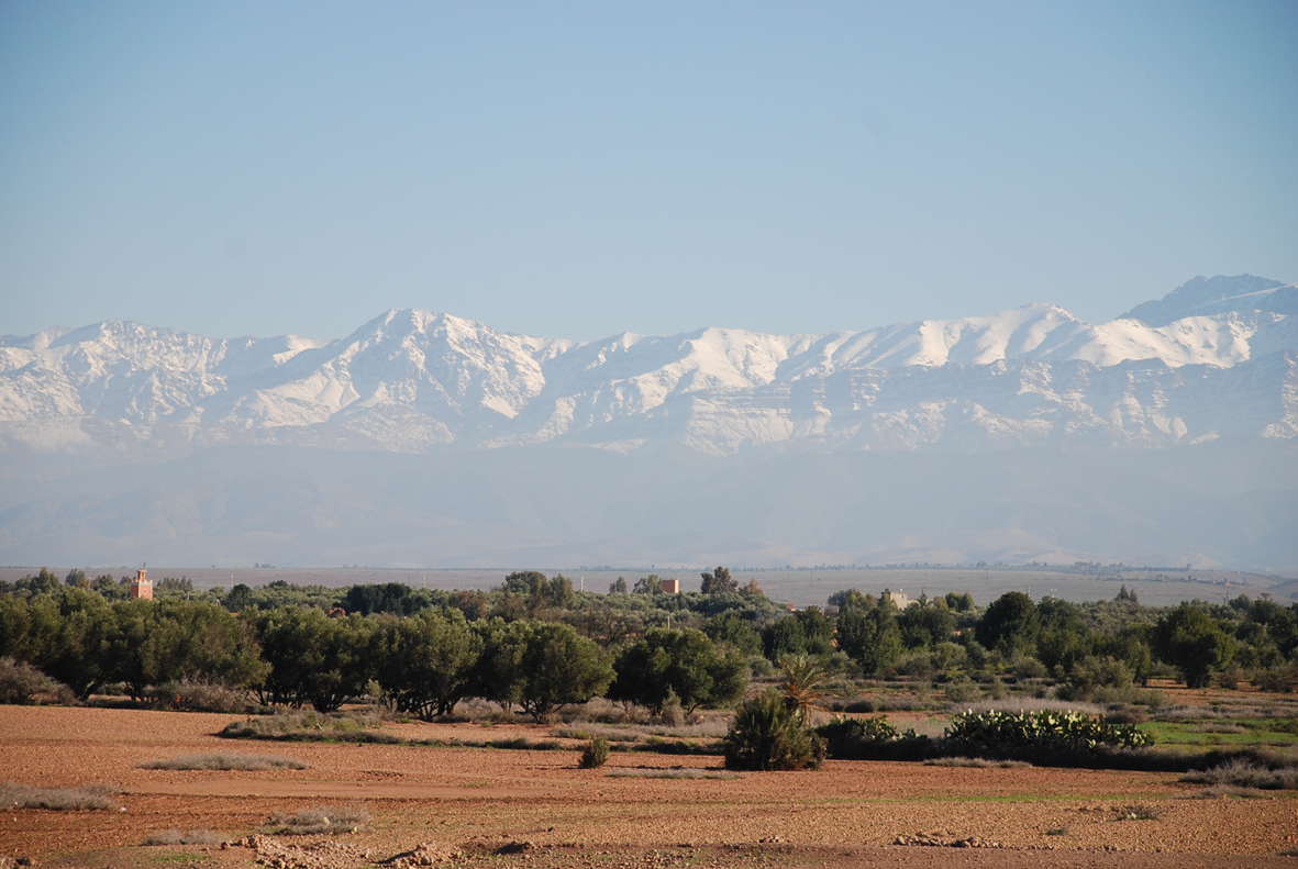 land atlas mountains