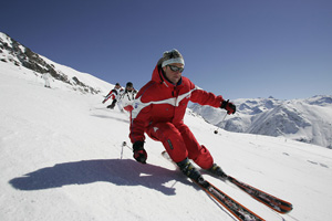 ski two