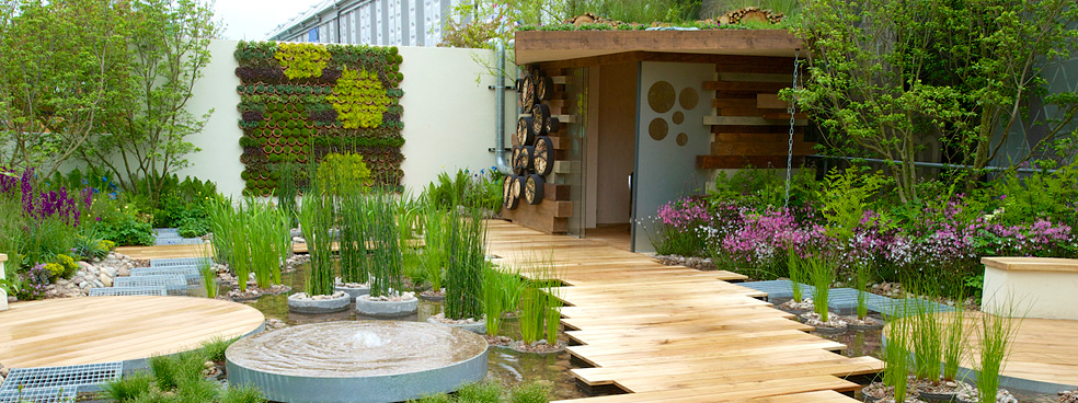 Breathtaking billabong wins chelsea s 100th flower show for Garden design 2015