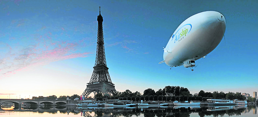 Pontoise – Paris Airport: good for private jet travel and airship city tour