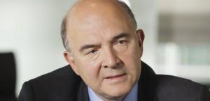 Pierre Moscovici, ministre de l'Economie, des Finances et du Commerce exterieur