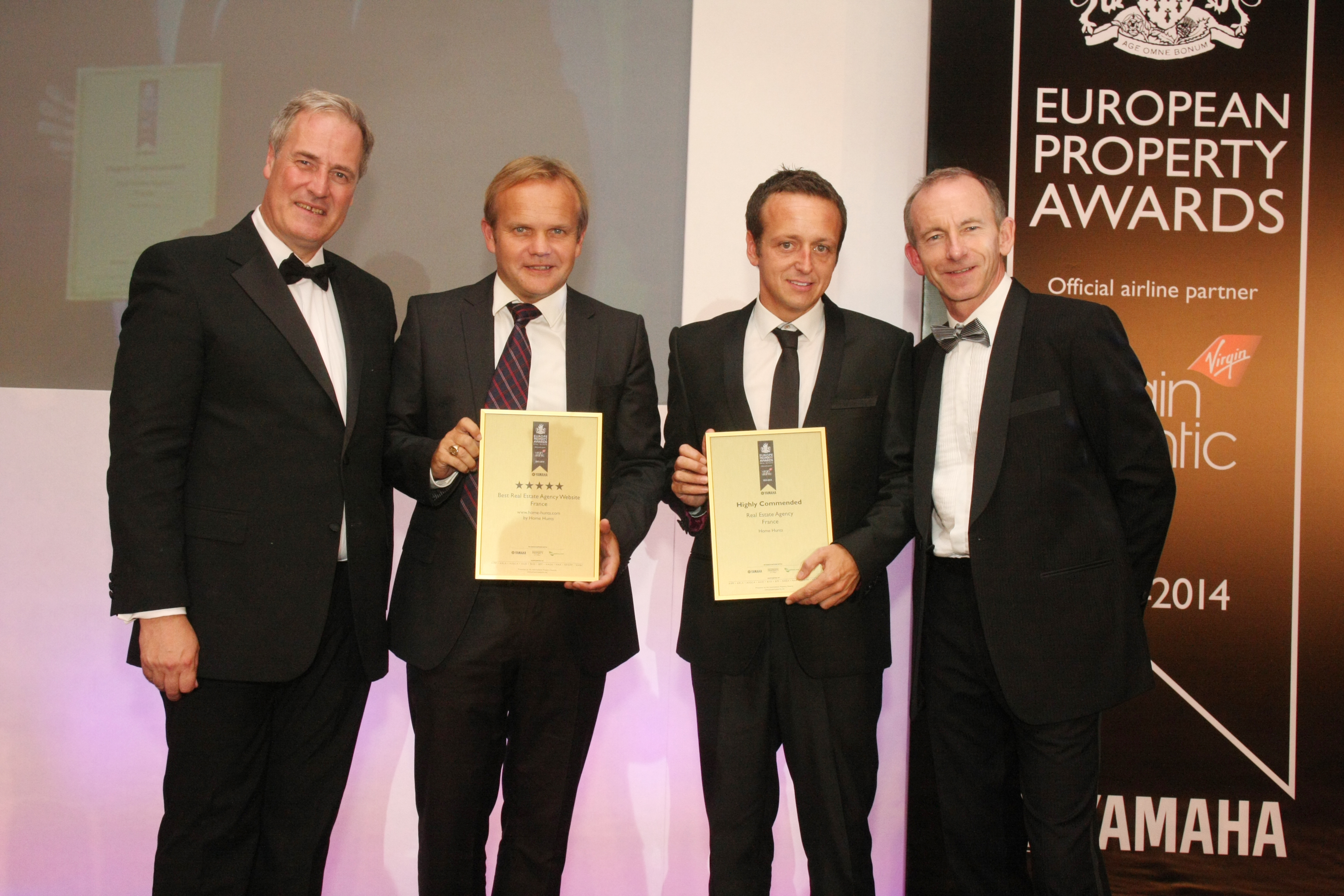 Home Hunts Receives Double Win at Prestigious Property Awards