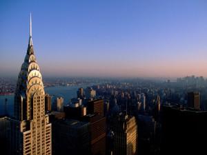 #Bird's Eye View of New York City