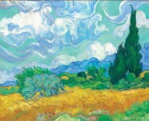 wheatfields van gogh