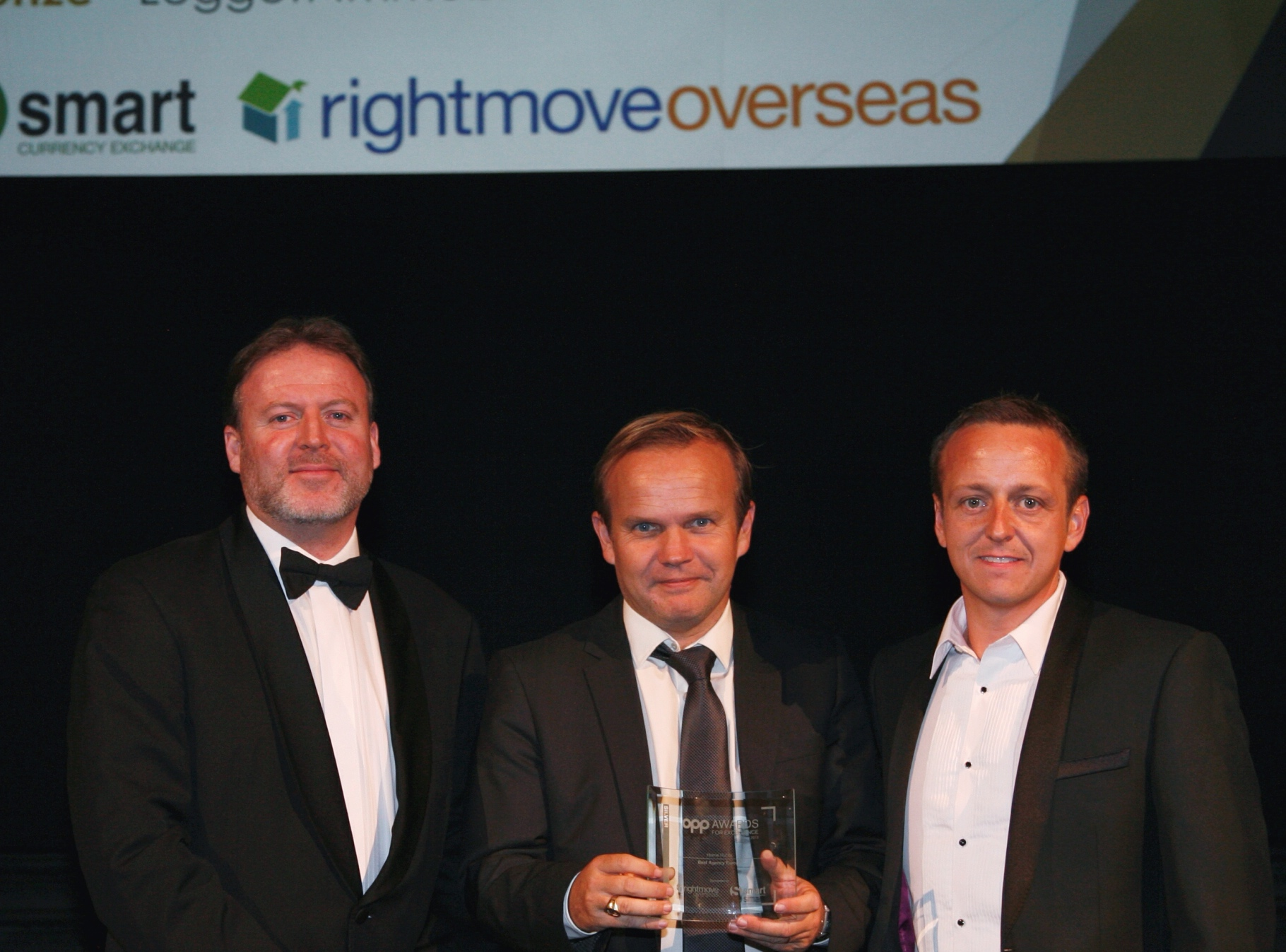 HOME HUNTS WINS AT THE PRESTIGIOUS EUROPEAN PROPERTY AWARDS FOR THE THIRD YEAR RUNNING….