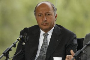 Laurent FABIUS - Photo courtesy of MEDEF