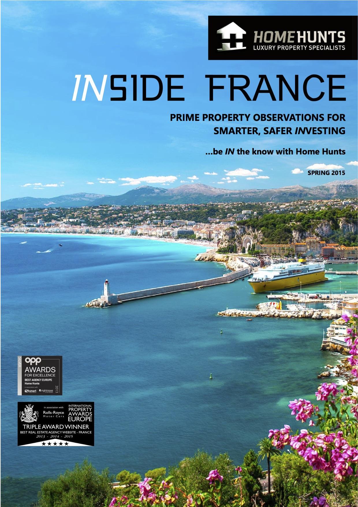 INSIDE FRANCE – Home Hunts French property market report