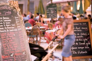 Montpellier restaurant boards E Carrau