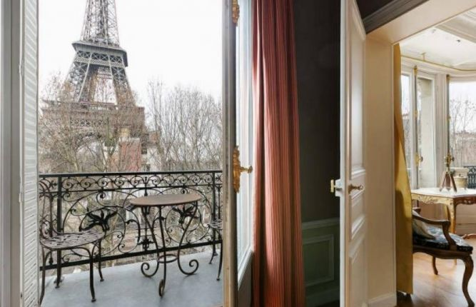 Five Luxury Apartments In Paris With Balconies Home Hunts Luxury