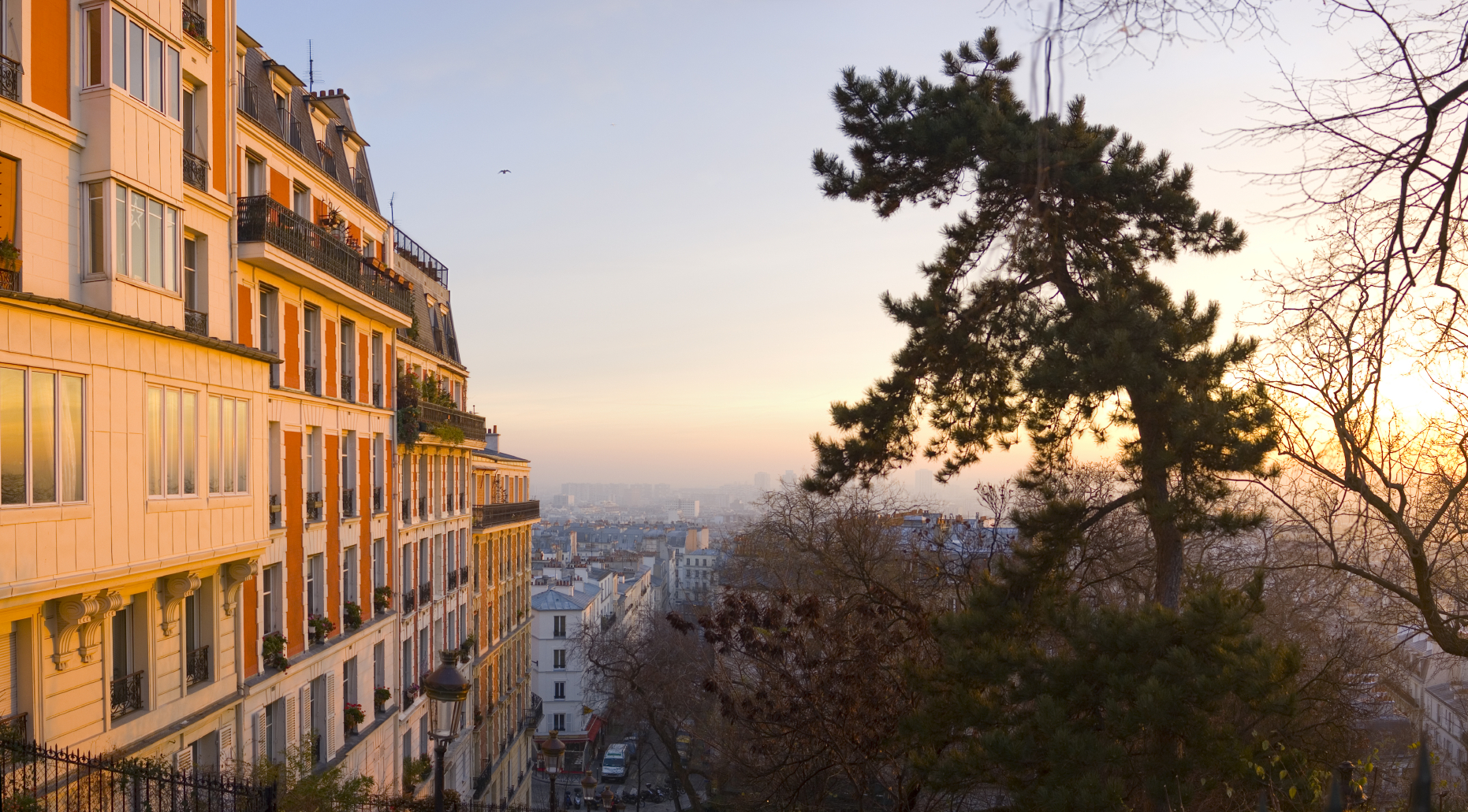 Five luxury apartments in Paris with balconies