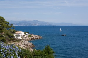 coastal view at Cap d'Antibes; Antibes, France