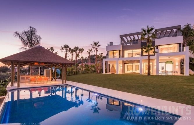 Five luxurious properties for sale in Marbella
