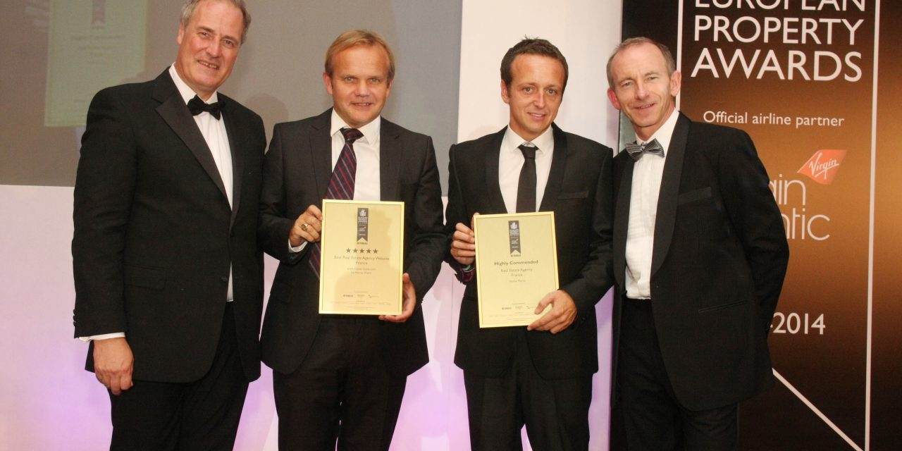 Home Hunts scoop best website award AGAIN at the European Property Awards…..