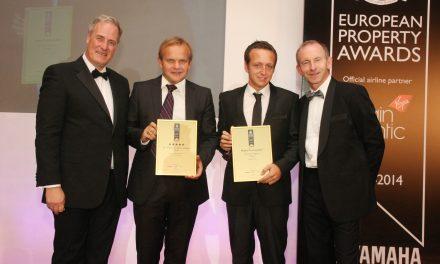 Home Hunts scoop best website award AGAIN at the European Property Awards…..