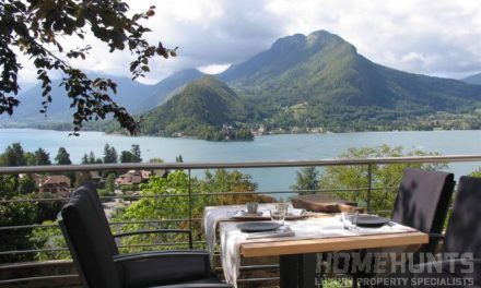 Splash out in Lake Annecy for an investment you can holiday in all year round