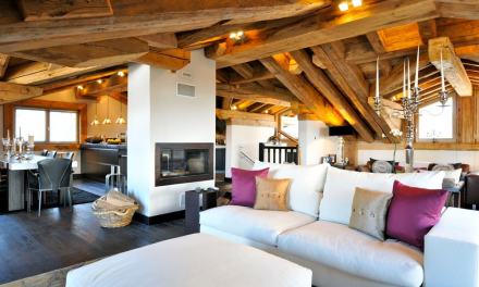Home Design Ideas from Some of the Best property in The French Alps
