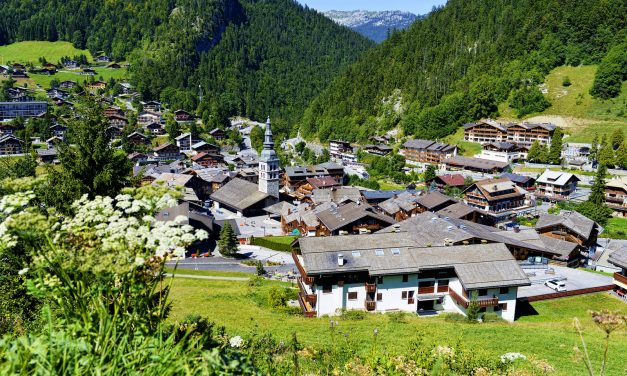 Three Ski Chalets in the French Alps with Stunning Views
