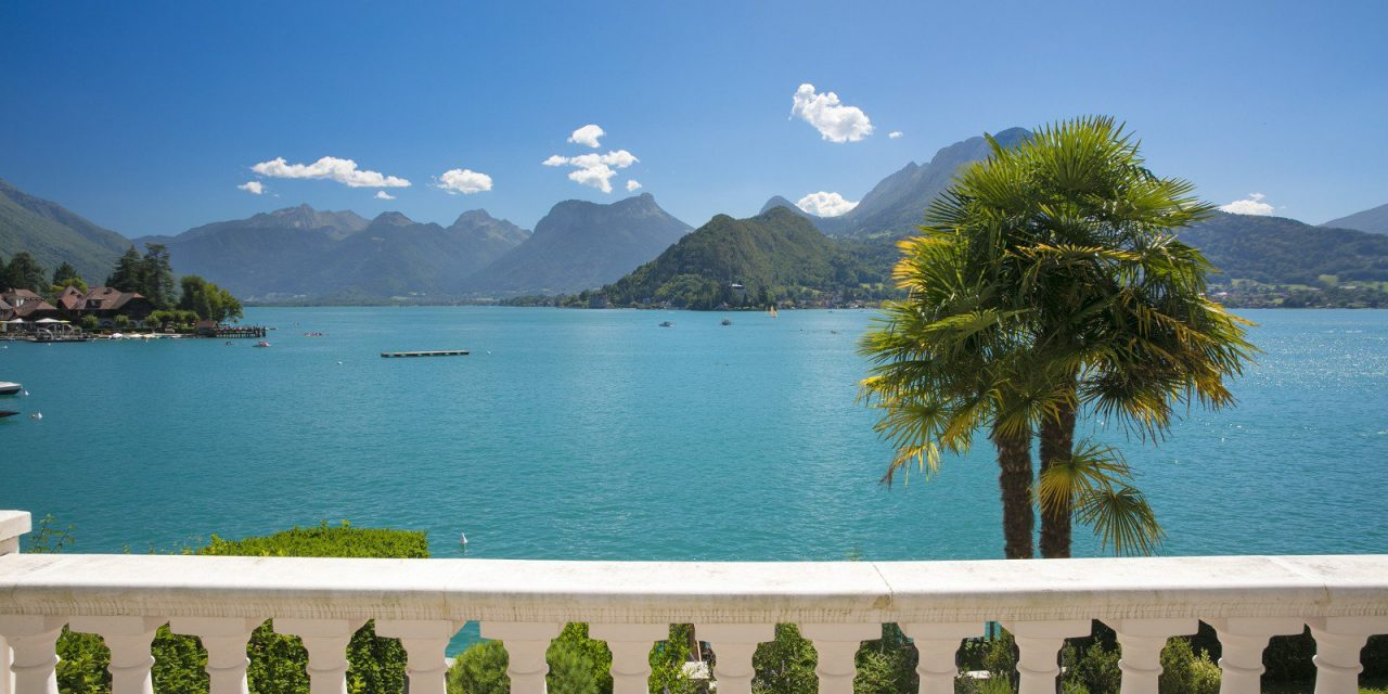 """Lake Annecy is where to have a """"life of leisure"""" says The Times"""