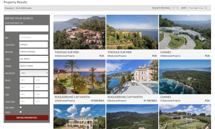 Six of the most exclusive properties for sale on the French Riviera