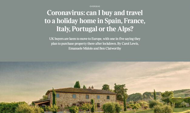 Can I buy and travel to my property in France?